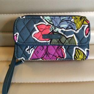 Vera Bradley all in one RFID wristlet/wallet